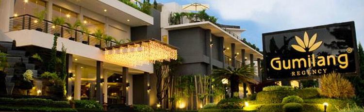 Hotel Gumilang Regency ExGumilang Sari 4 Star Jl Dr Setiabudi 323 325 Bandung